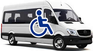 Wheelchair Adapted Vehicle (1 4 passengers)