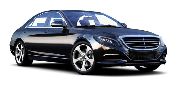 Mercedes S-Class (or similar)